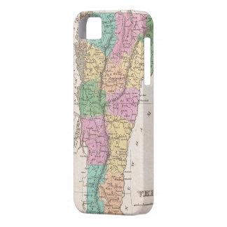 Vintage Map of Vermont (1827) iPhone SE/5/5s Case