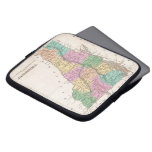 Vintage Map of Vermont (1827) Laptop Sleeve