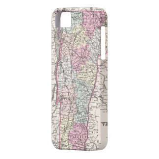 Vintage Map of Vermont 1855 iPhone 5 Case