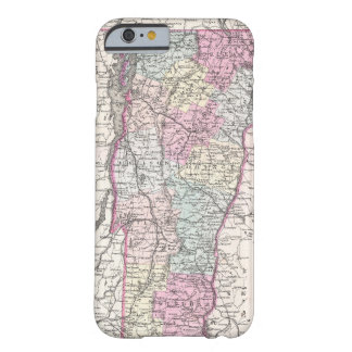 Vintage Map of Vermont (1855) iPhone 6 Case
