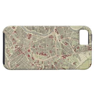 Vintage Map of Vienna Austria (1883) iPhone SE/5/5s Case