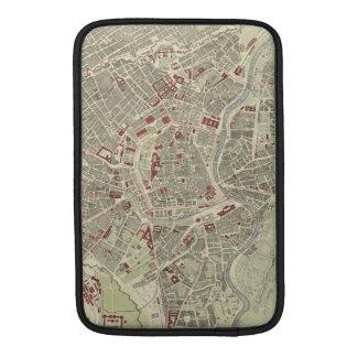 Vintage Map of Vienna Austria (1883) MacBook Air Sleeve