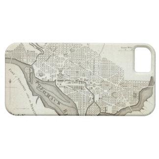 Vintage Map of Washington D.C. (1794) iPhone SE/5/5s Case