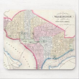 Vintage Map of Washington D.C. (1864) Mouse Pad