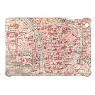 Vintage Map of Wurzburg Germany (1905) iPad Mini Cases