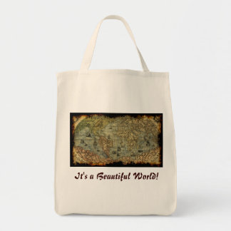 Vintage Maps from around the World Tote Bag