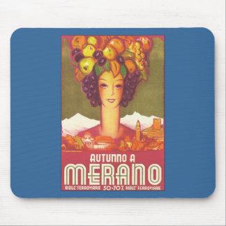 Vintage Marano, arte del poster del viaje de Itali Alfombrilla De Ratón