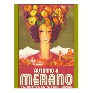 Vintage Marano, arte del poster del viaje de Postales