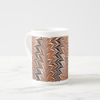 Vintage Marbled Design Tea Cup