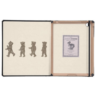 Vintage Marching Teddy Bear DODOcase iPad Case