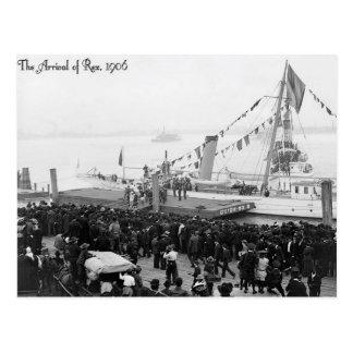Vintage Mardi Gras New Orleans, The Arrival Of Rex Postcard