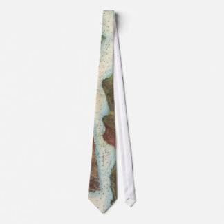 Vintage Mare Island Strait and Vallejo Map (1857) Neck Tie
