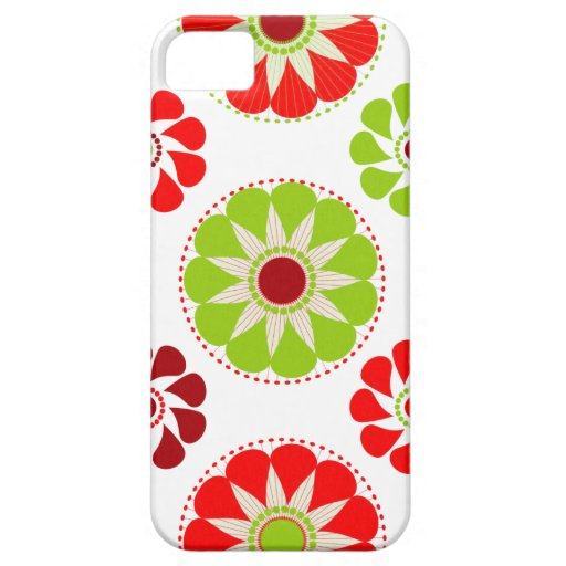 Vintage Marie del flower power #4 @ Funda Para iPhone 5 Barely There