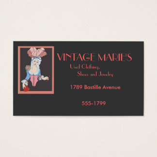 Vintage Marie's Business Card