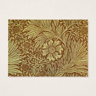 Vintage Marigold William Morris Wallpaper Design Business Card