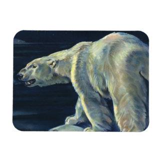 Vintage Marine Mammal, Polar Bear, Iceberg Arctic Magnets