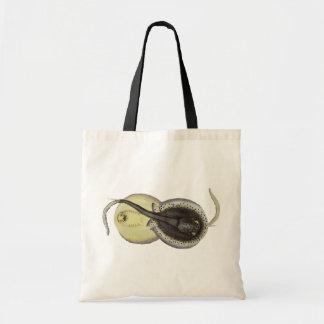 Vintage Marine Ocean Animals, Spotted Stingrays Tote Bag