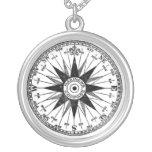 Vintage Mariner's Compass necklace