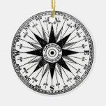 Vintage Mariner's Compass ornament