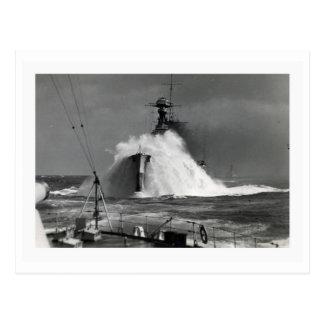 Vintage Marine's Photograph - The Royal Oak Ship Postcard