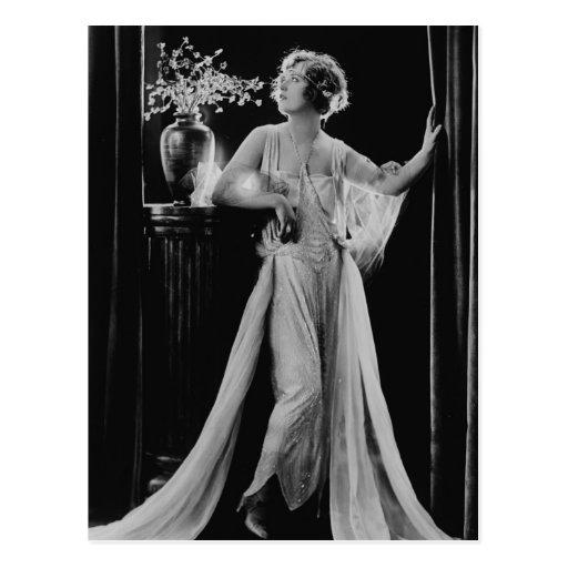 Vintage Marion Davies Tarjeta Postal