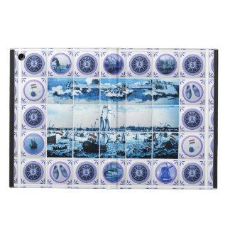 Vintage Maritime Holland Delftware/ Delft Blue Case For iPad Air