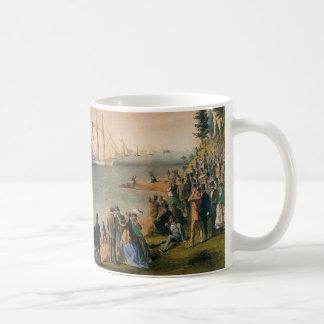 Vintage Maritime, New York Yacht Club Regatta Coffee Mug