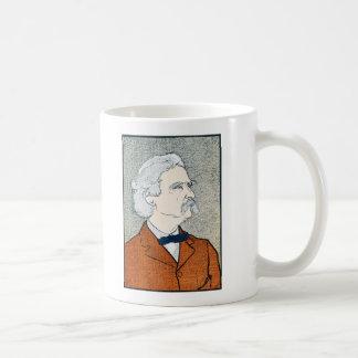Vintage Mark Twain - Explore. Dream. Discover. Coffee Mug