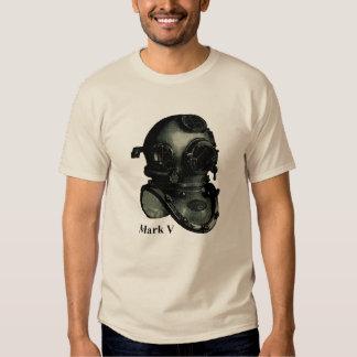 Vintage Mark V Diving Helmet Illustration Shirt