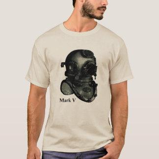 Vintage Mark V Diving Helmet Illustration T-Shirt