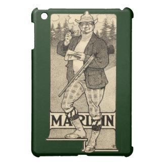 Vintage Marlin Firearm Gun Ad Apple iPad Mini Case