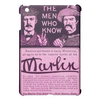 Vintage Marlin Firearm Purple Ad iPad Mini Case