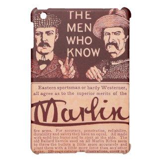 Vintage Marlin Firearm Red Gun Ad iPad Mini Case