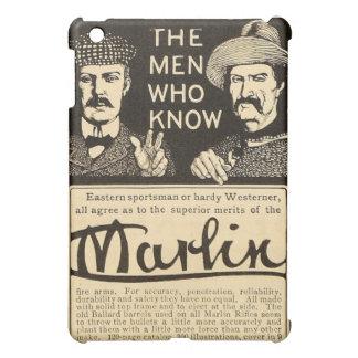 Vintage Marlin Firearm Rifle Gun Ad iPad Mini Case