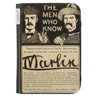 Vintage Marlin Firearms Gun Ad Amazon Kindle Case