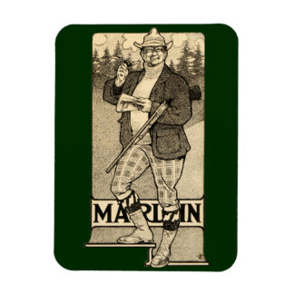 Vintage Marlin Firearms Shotgun Home Office Magnet