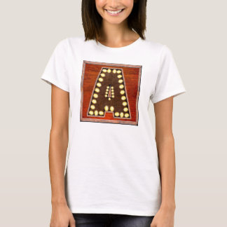 Vintage Marquee Letter A Lighted Sign T-Shirt