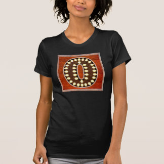 Vintage Marquee Letter O Lighted Sign T-Shirt