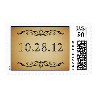 Vintage Marquis Wedding Stamp