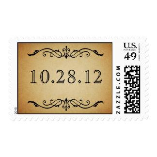 Vintage Marquis Wedding Stamp