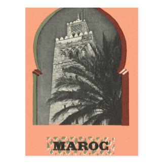 Vintage Marrakesh, Maroc, Tarjetas Postales