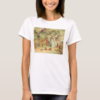Vintage Marriage of Thumbelina and Prince T-Shirt