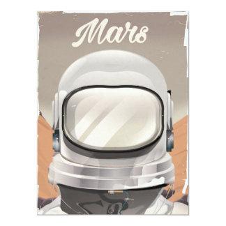 Vintage Mars Astronaut Card