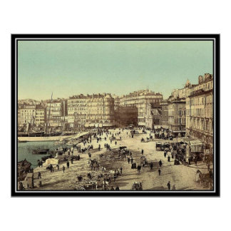 Vintage Marseille, France - - Posters