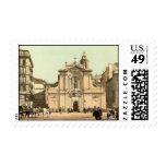 Vintage Marseille, France - Stamp