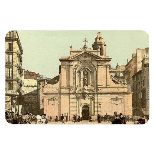 Vintage Marsella, Francia - Imán De Vinilo