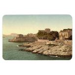 Vintage Marsella, Francia - Imanes