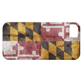 Vintage Maryland Flag iPhone 5 Case