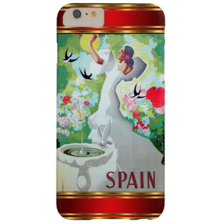 Vintage más España del caso de IPhone 6 Funda De iPhone 6 Plus Barely There
