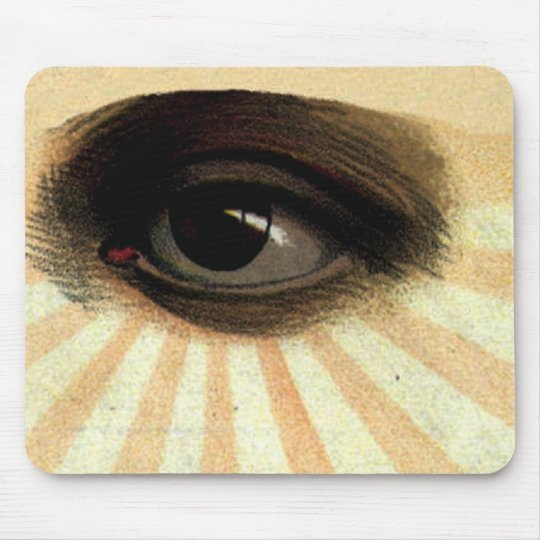Vintage Masonic Supreme Being All Seeing Eye Mouse Pad